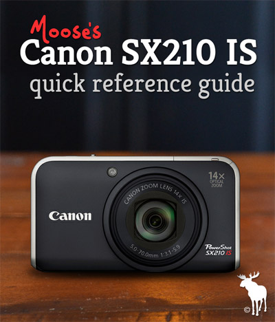 Canon SX210 IS Tips & Resources