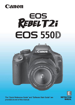 Canon T2i Manual