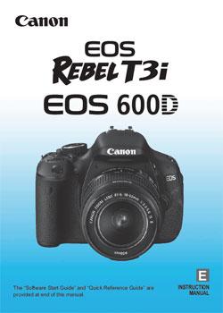 Canon T3i Manual