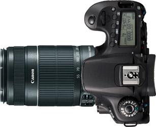 Canon 60D + 55-250mm