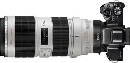 Canon M50 + 70-200mm f/2.8