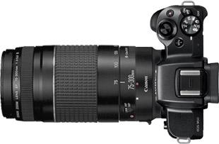 Canon M50 + 75-300mm f/4-5.6