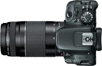 Canon SL1 (100D) + 75-300mm