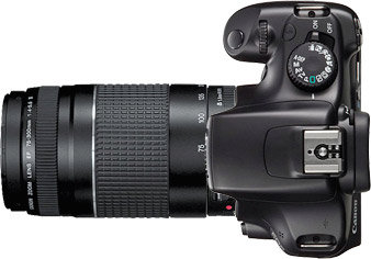 Canon T3 (1100D) + 75-300mm