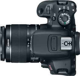 Canon T4i (650D) + 18-55mm