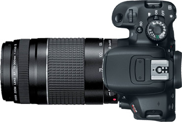 Canon T4i (650D) + 75-300mm