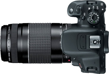 Canon T5i (700D) + 75-300mm