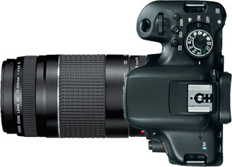 Canon T6i (750D) + 75-300mm