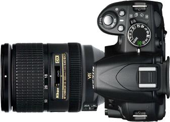 Nikon D3100 + 18-300mm