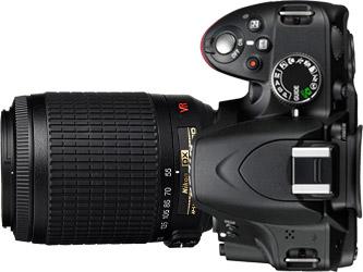 Nikon D3100 + 55-200mm