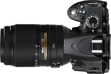 Nikon D3100 + 55-300mm