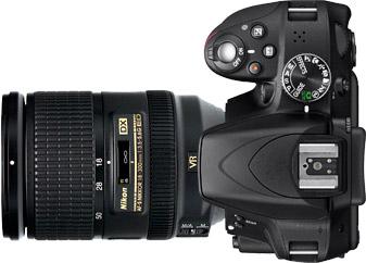 Nikon D3300 + 18-300mm