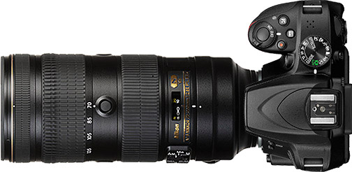 Nikon D3400 + 70-200mm f/2.8