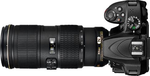 Nikon D3400 + 70-200mm f/4