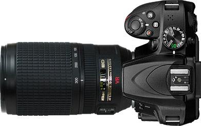 Nikon D3400 + 70-300mm f/4.5-5.6~6.3