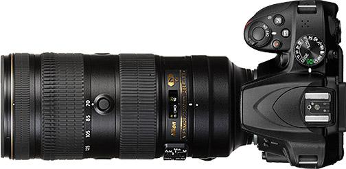 Nikon D3500 + 70-200mm f/2.8