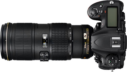 Nikon D500 + 70-200mm f/4