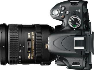 Nikon D5100 + 18-200mm