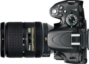 Nikon D5100 + 18-300mm