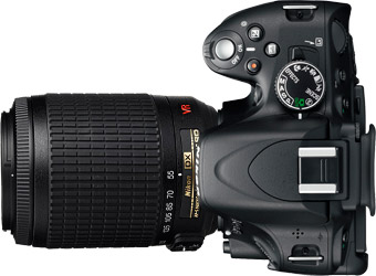 Nikon D5100 + 55-200mm
