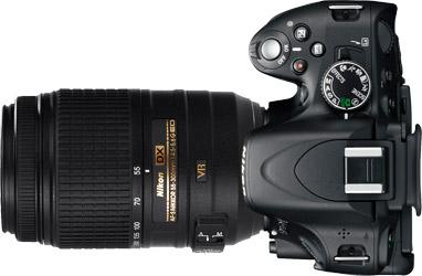 Nikon D5100 + 55-300mm