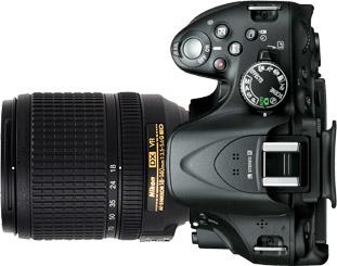 Nikon D5200 + 18-140mm