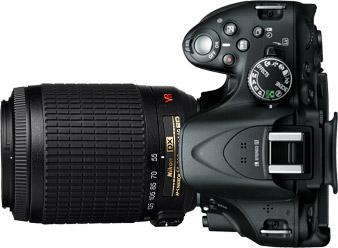 Nikon D5200 + 55-200mm