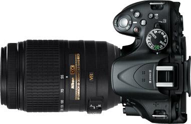 Nikon D5200 + 55-300mm