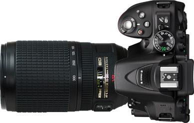 Nikon D5300 + 70-300mm f/4.5-5.6~6.3