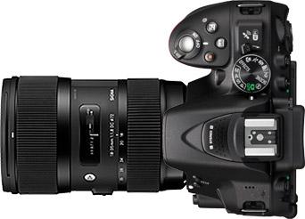 Nikon D5300 + Sigma 18-35mm f/1.8