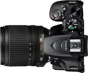 Nikon D5500 + 18-105mm f/3.5-5.6
