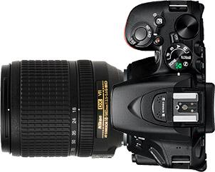 Nikon D5500 + 18-140mm f/3.5-5.6