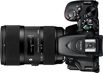 Nikon D5500 + Sigma 18-35mm f/1.8