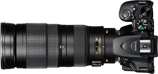 Nikon D5500 + 200-500mm f/5.6