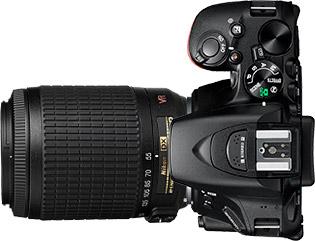 Nikon D5500 + 55-200mm f/4-5.6
