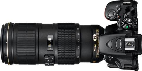Nikon D5500 + 70-200mm f/4