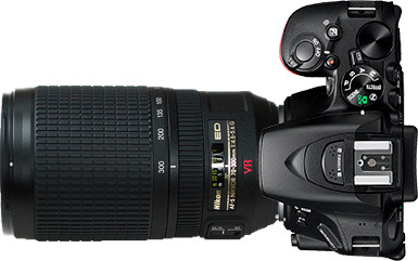 Nikon D5500 + 70-300mm f/4.5-5.6~6.3