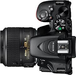 Nikon D5600 + 18-55mm f/4-5.6