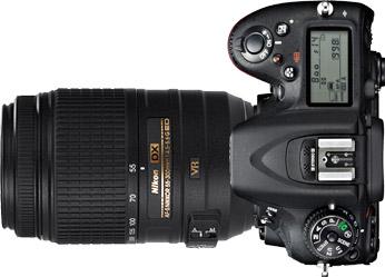 Nikon D7100 + 55-300mm