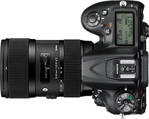 Nikon D7200 + Sigma 18-35mm f/1.8