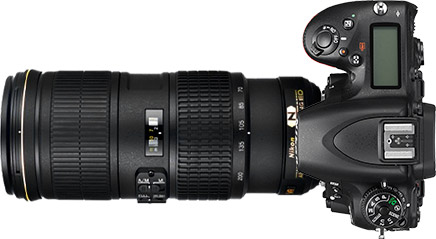 Nikon D750 + 70-200mm f/4