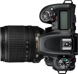 Nikon D7500 + 18-105mm f/3.5-5.6