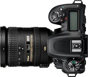 Nikon D7500 + 18-200mm f/3.5-5.6