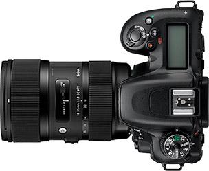 Nikon D7500 + Sigma 18-35mm f/1.8