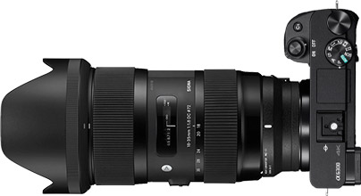 Sony a6300 + Sigma 18-35mm f/1.8
