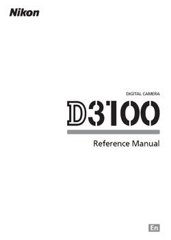 Nikon D3100 Manual