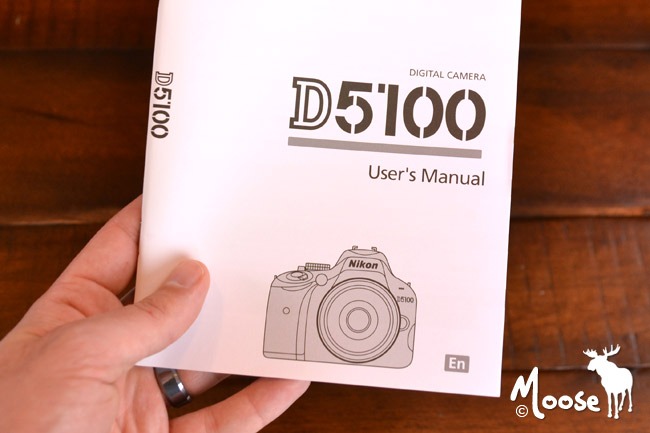 Nikon D5100 Manual & Helpful Resources