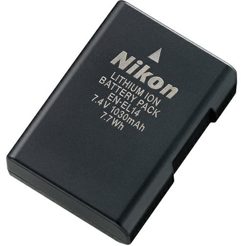 EN-EL14 battery for the Nikon D5100