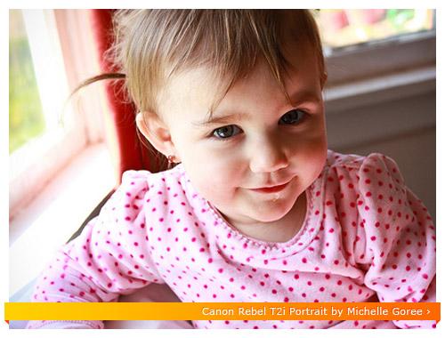 Canon Rebel T2i - Baby Portrait