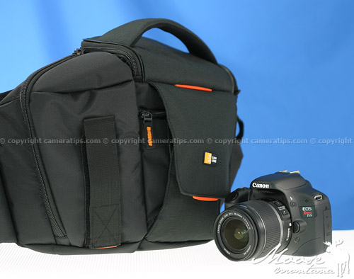 Canon T2i with the Caselogic SLR Sling (SLRC-205) - © copyright cameratips.com